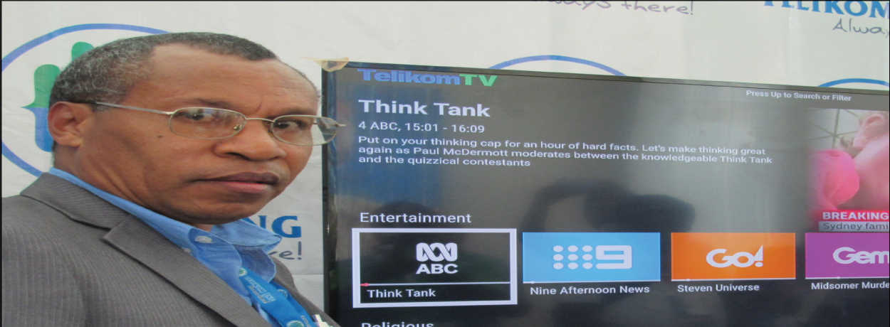 Telikom launches TV platform.