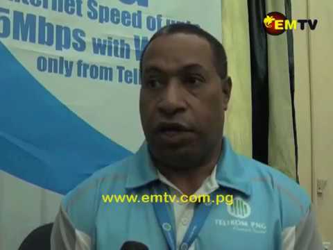 Telikom PNG Launches 4G Network in Wewak.