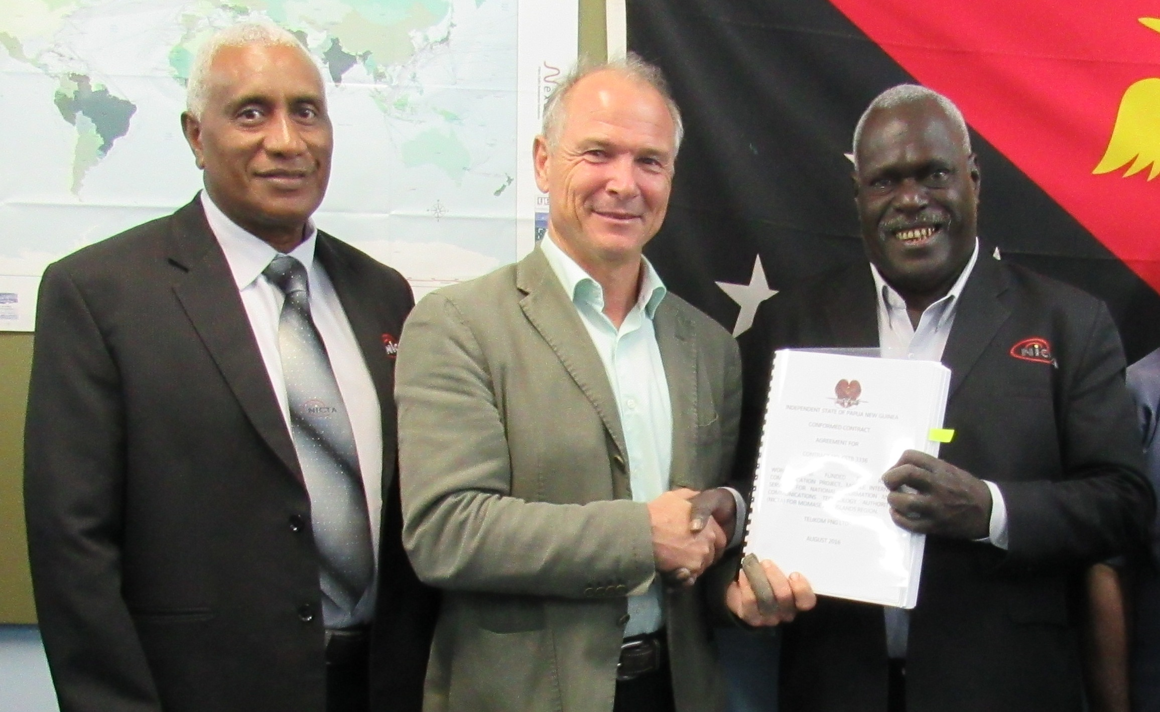 Telikom wins bid to roll out Universal Access Service.