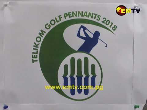 Telikom PNG Sponsors Port Moresby Pennant Corporate Golf Challenge.