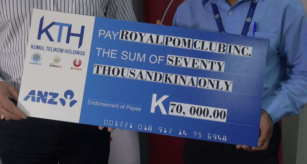 Kumul Telikom Holdings Limited Supports 2019 Golf Pennants.