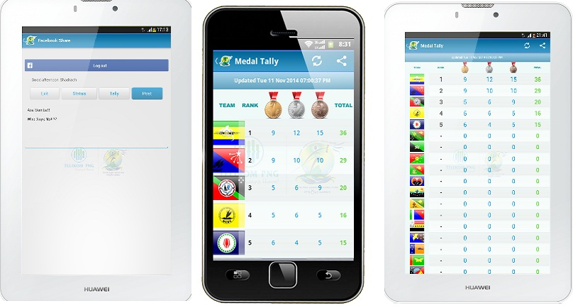 Telikom PNG launch PNG Games Android app.