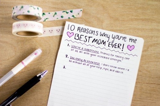 30 Ways to Show Mom You Appreciate Her.