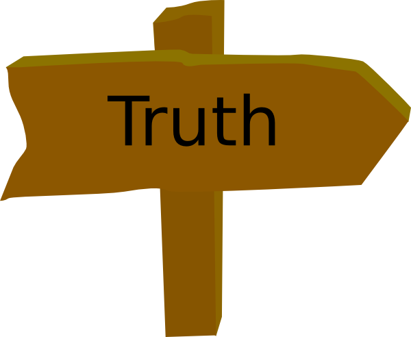 Tell The Truth Clipart Truth%.