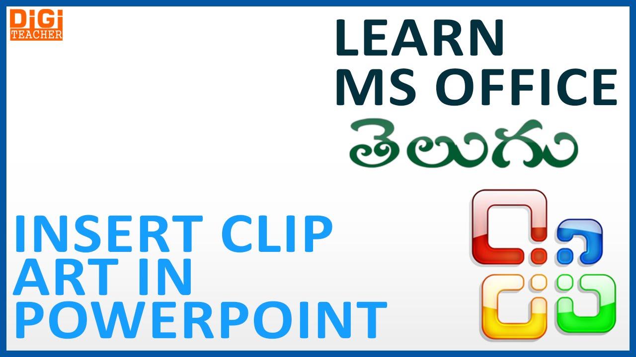 Learn Ms Office.