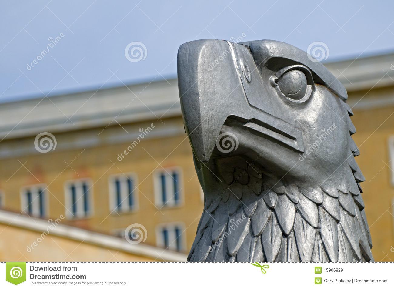 Tempelhof Eagle Royalty Free Stock Images.