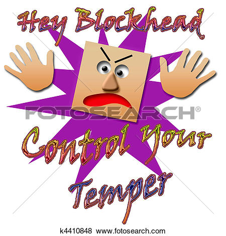 Stock Illustration of temper tantrum k4410848.
