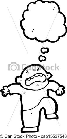EPS Vector of cartoon temper tantrum csp15537543.