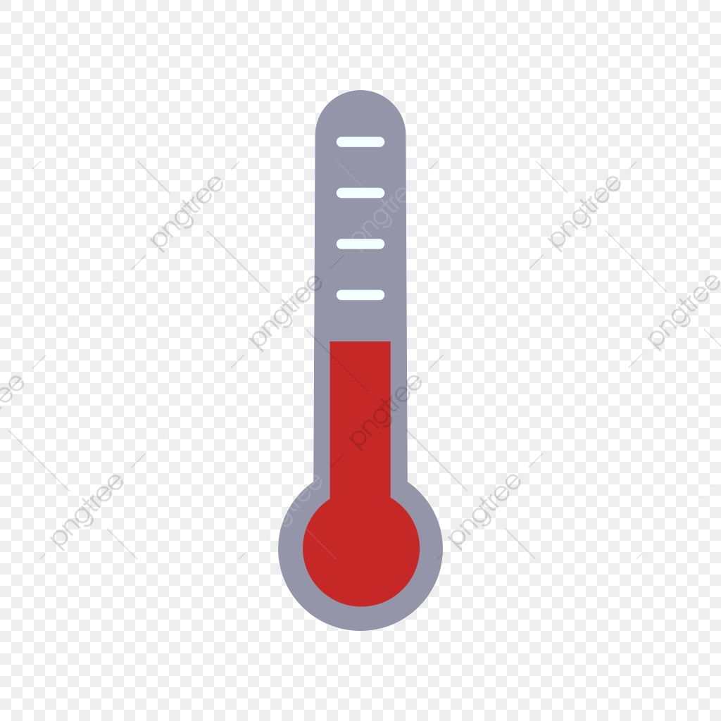 Thermometer Vector Icon, Fever Icon, Medical Icon.