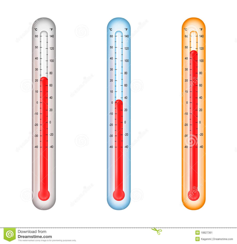 Normal Temperature Clipart.