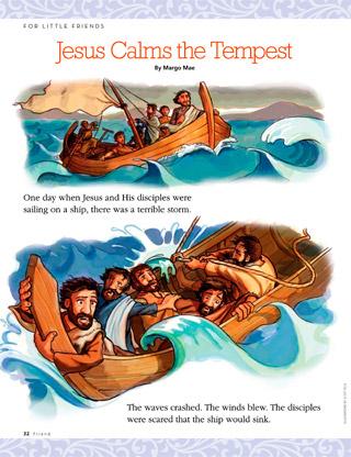 Jesus Calms the Tempest.