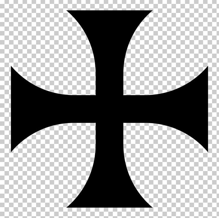 Cross Pattée Knights Templar Christian Cross Maltese Cross.