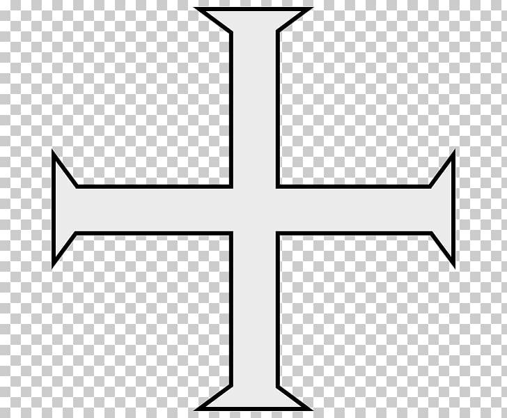 Knights Templar Christian cross , christian cross PNG.