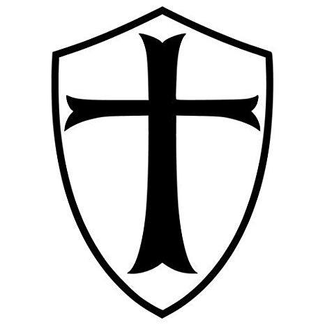 Amazon.com: KNIGHT TEMPLAR LOGO STICKERS SYMBOL 5.5.