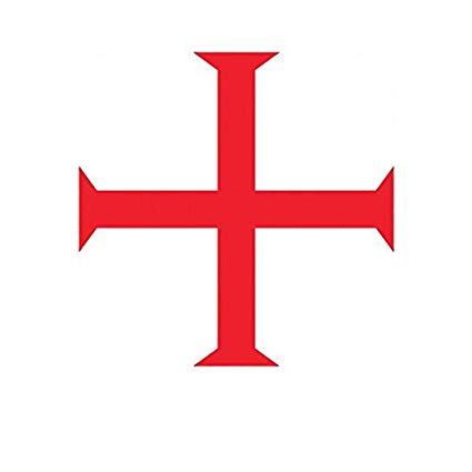 Amazon.com: ION Graphics Magnet Knights Templar Symbol.