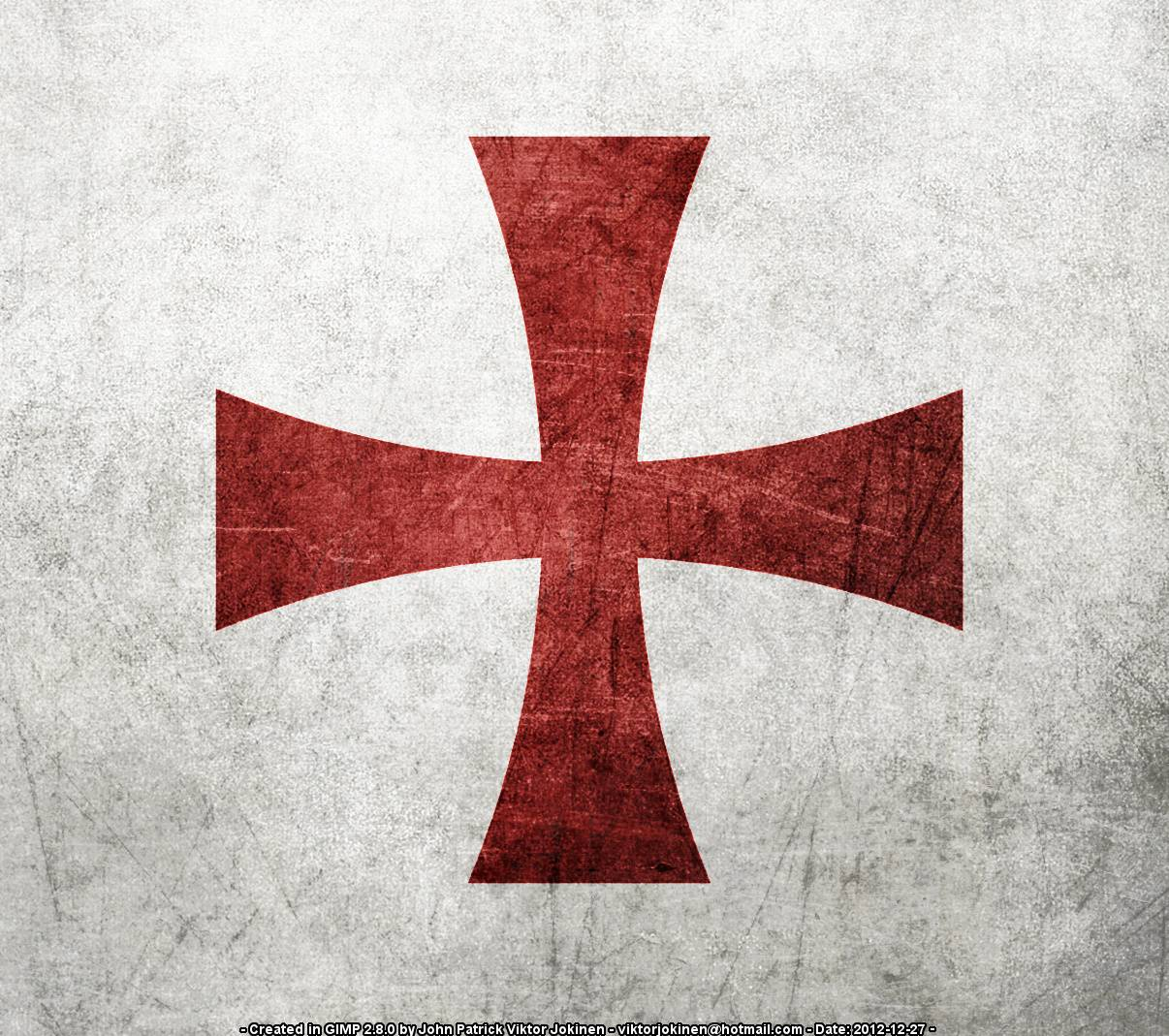 Templar Knights Logo wallpaper by BANDITA432.