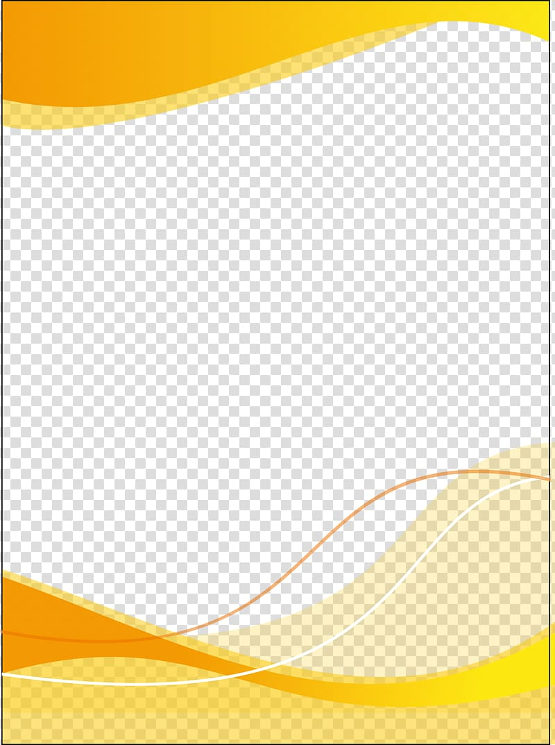 Yellow Material Pattern, Poster template, yellow and blue.