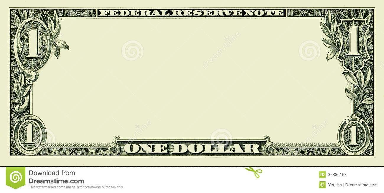 Fake Money Template Photoshop Elegant Bank Note Clipart.