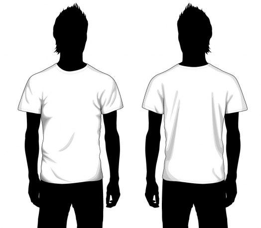 Boy T Shirt Template By Mur image.