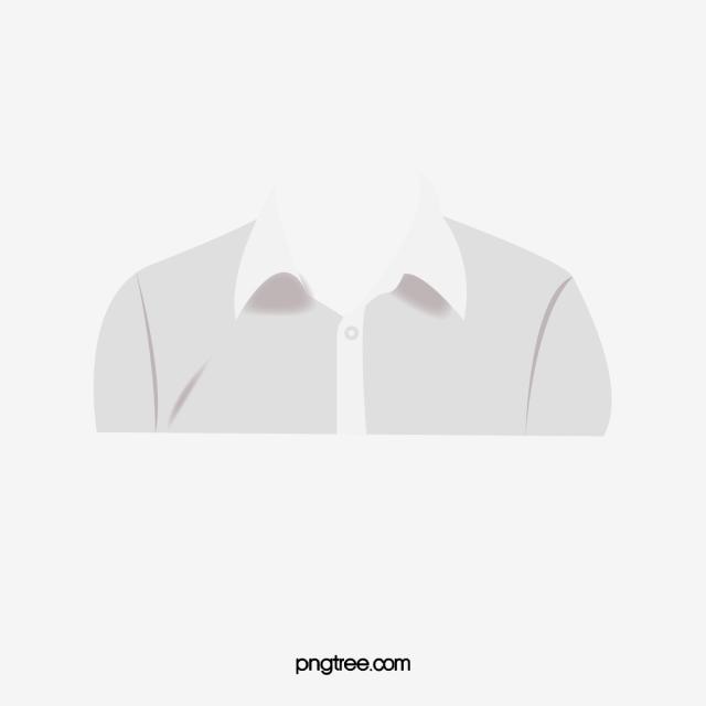 Baju Template, Baju, Kemeja Putih, Template Fail PNG dan PSD.