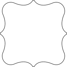 Plaque Shape Clipart.