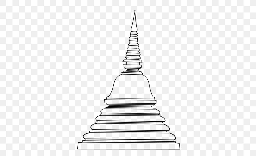 Temple Buddhism Stupa Clip Art, PNG, 500x500px, Temple.