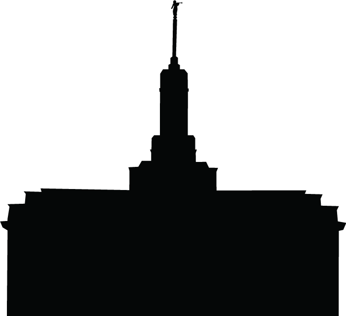 Salt Lake Temple Clipart.