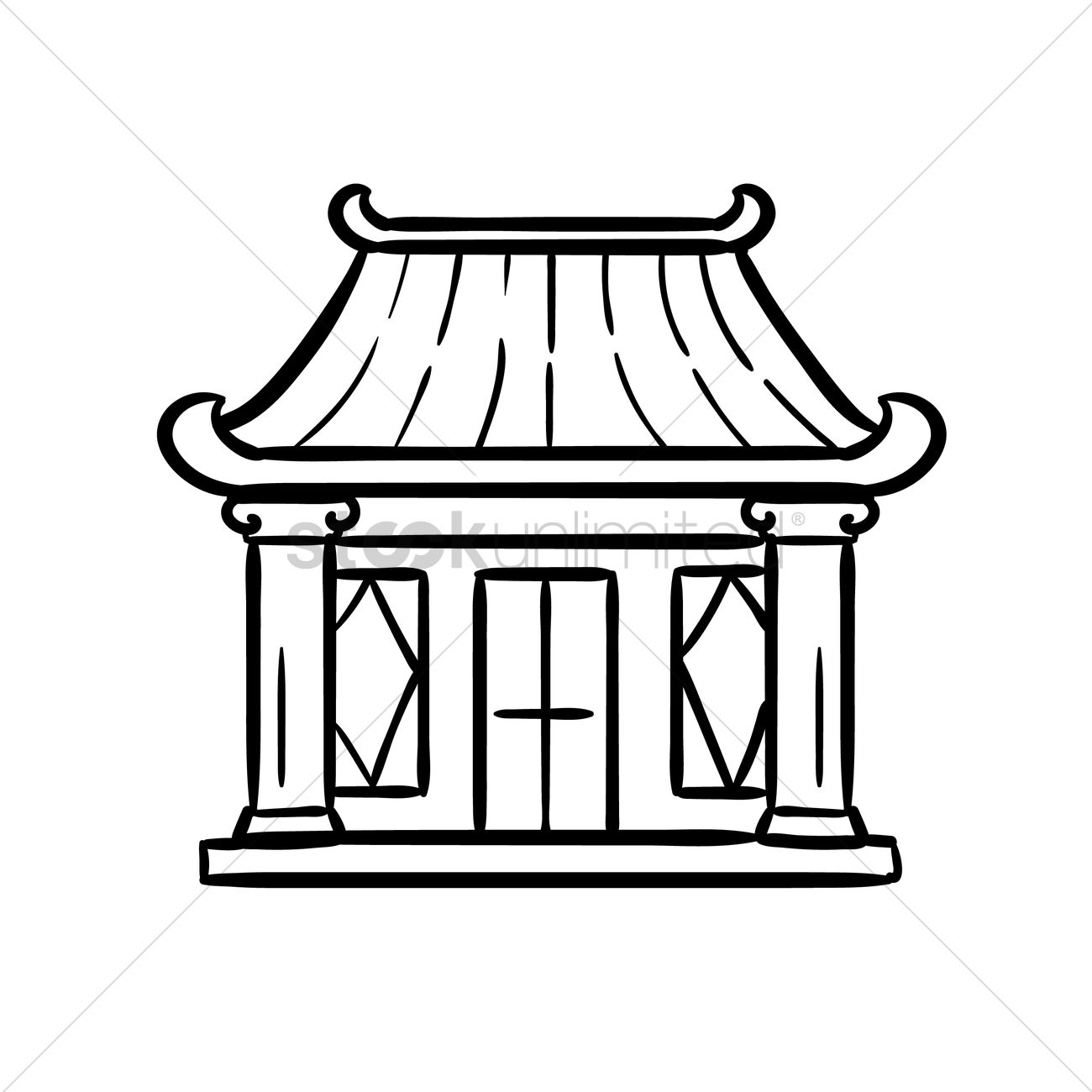 Temple clipart black and white 2 » Clipart Station.