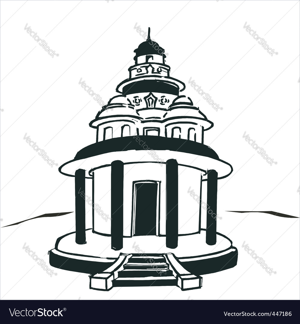Hindu temple clipart black and white 8 » Clipart Station.