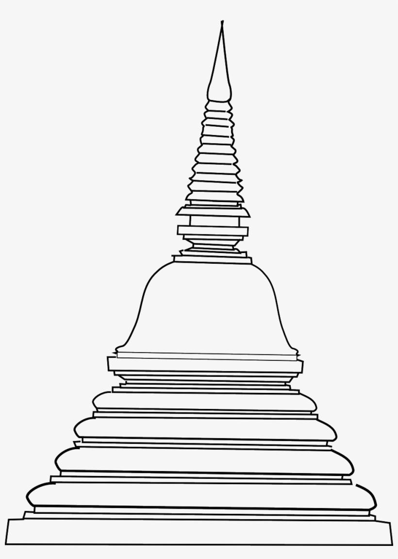 Pagoda Buddha Buddhist.