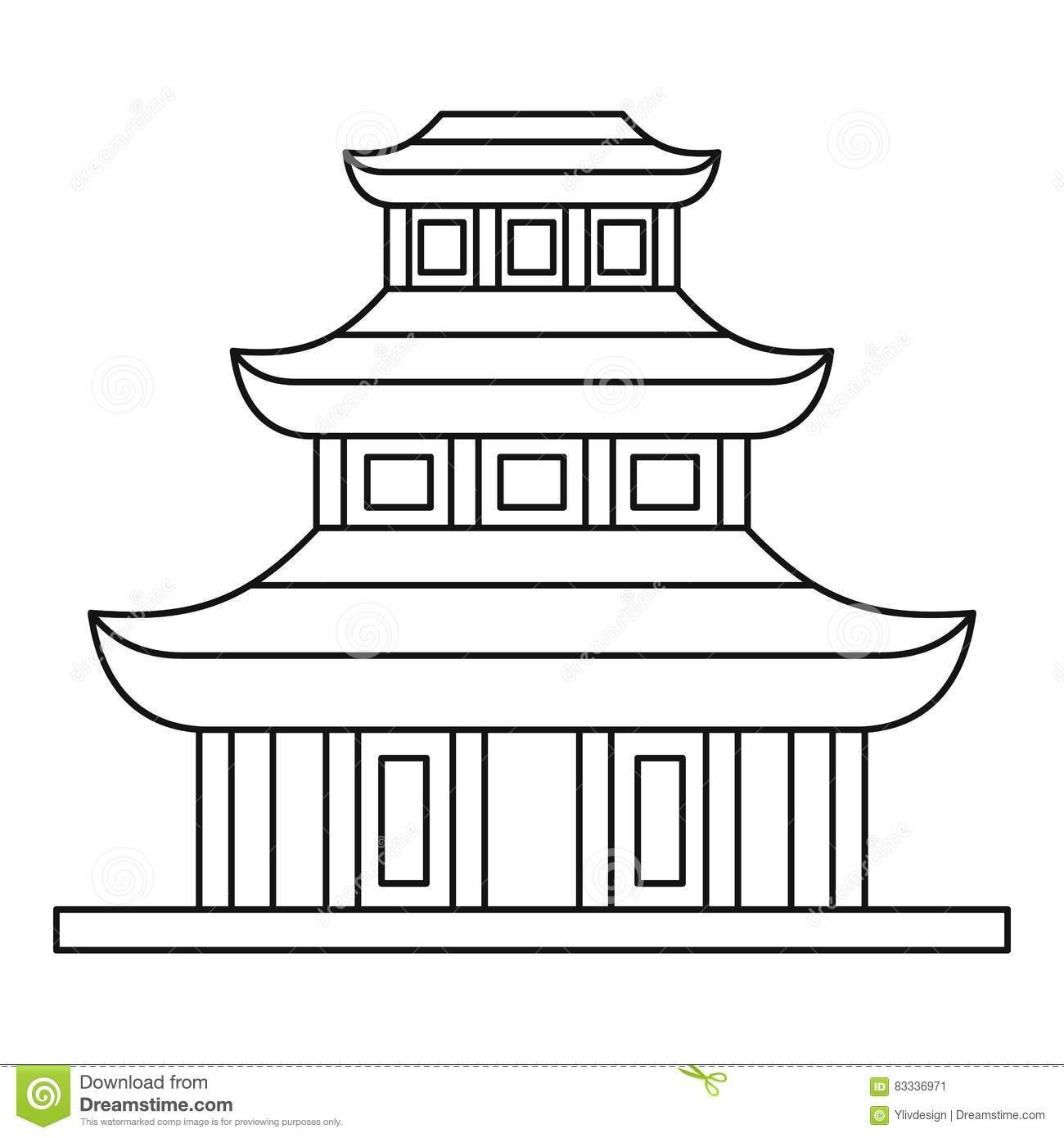 Chinese temple clipart black and white 6 » Clipart Portal.