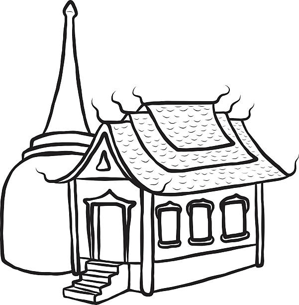 Temple clipart black and white 4 » Clipart Station.