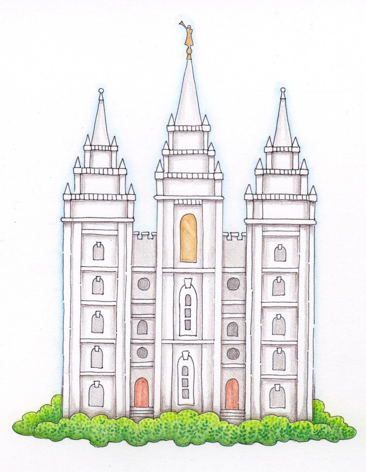 Darling Temple drawing! I know I\'ll find myself looking for.