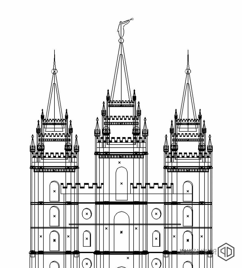 HD Salt Lake Lds Temple Clip Art Library » Free Vector Art.