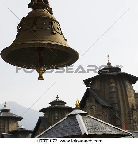 Stock Photo of Low angle view of a temple, Lakshmi Narayan Temple.
