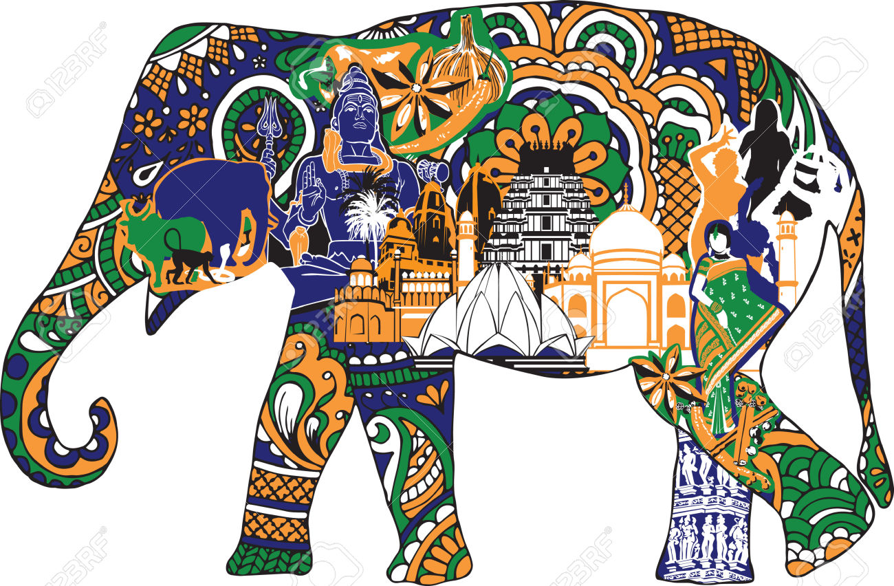 Temple Elephant Clipart Clipground