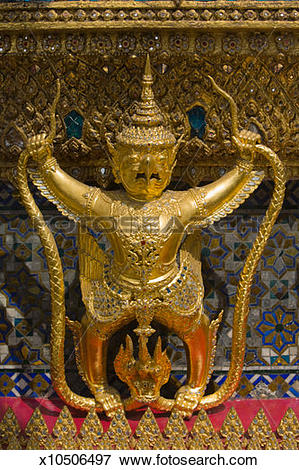 Picture of Thailand, Bangkok, Grand Palace, Temple of the Emerald.