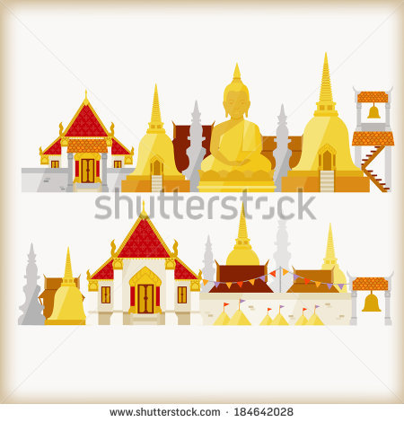 Thai Temple Stock Photos, Royalty.