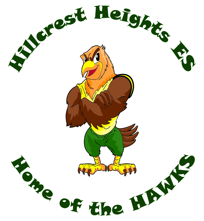Hillcrest Heights Elementary School Home Page.