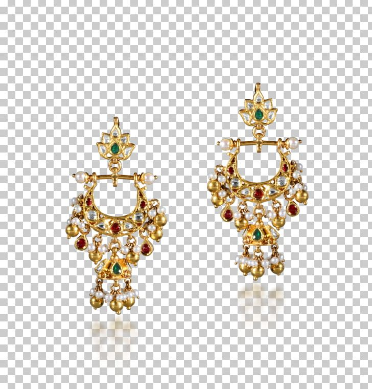 Earring Pearl Jewellery Kundan Gold PNG, Clipart, Bead, Body.