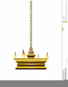 Oil Lamp Clipart.