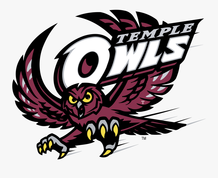 Temple Owls Logo Png Transparent.