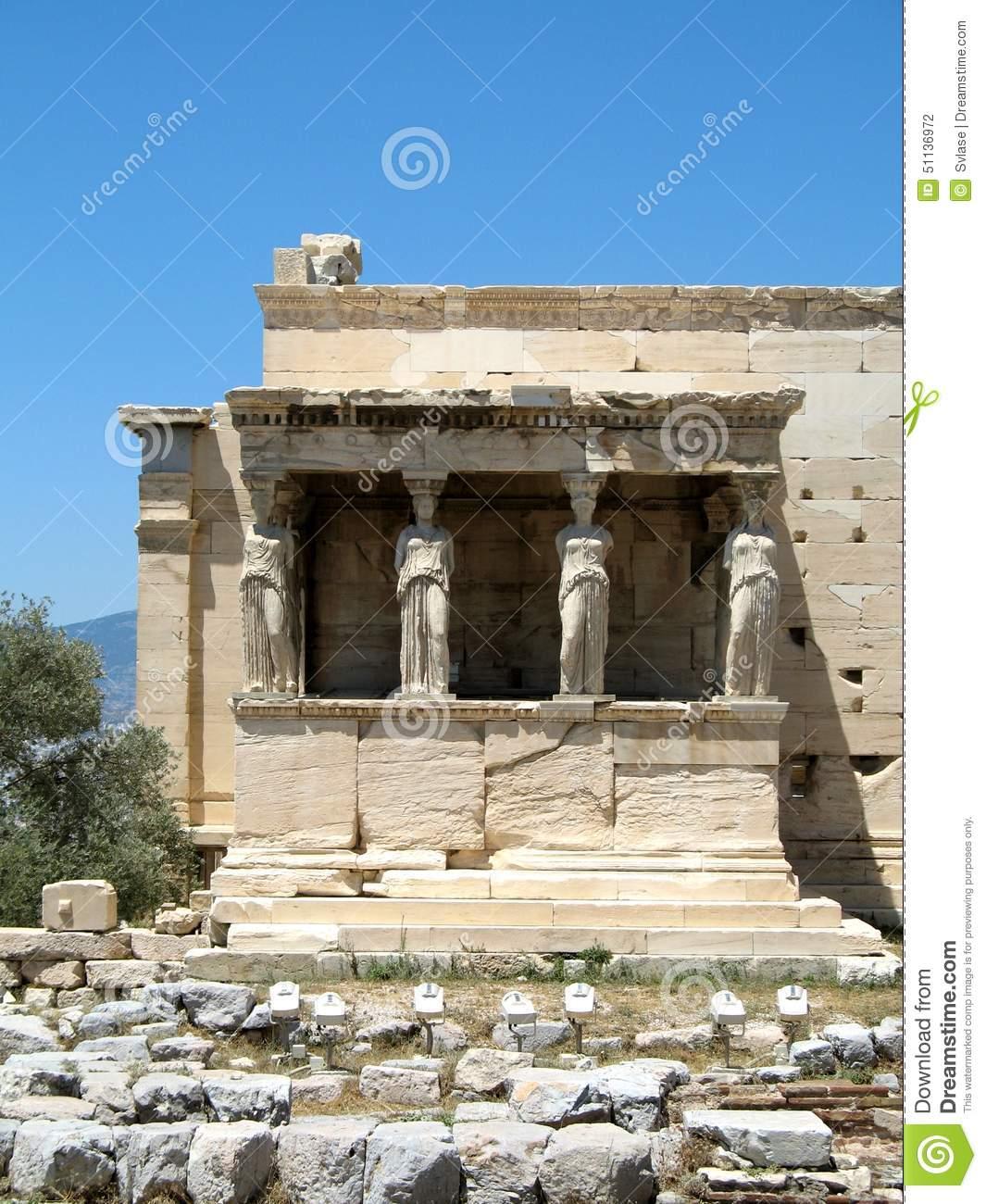 Temple Of Athena Nike, Acropolis Of Athens, Greece 3 Stock Photo.