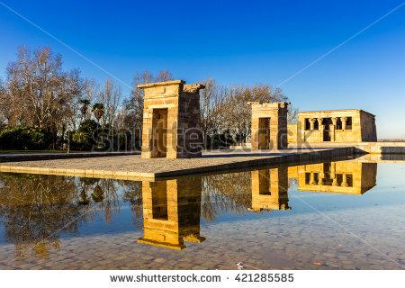 Temple Of Debod Stock Photos, Royalty.