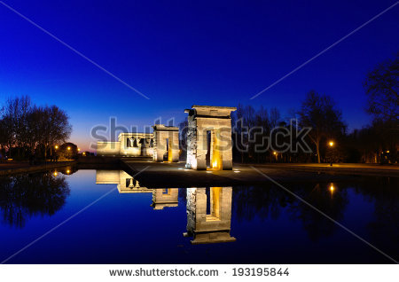 Templo De Debod Stock Photos, Royalty.