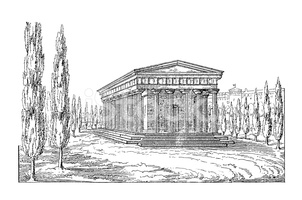 Theseus Temple, Vienna, Austria.