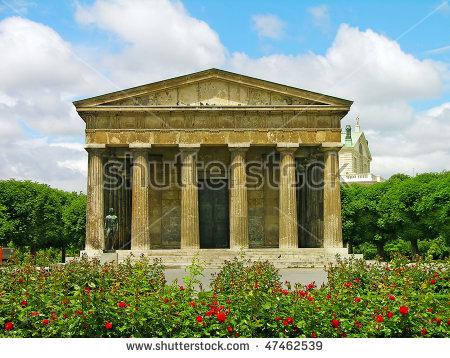 Temple Of Theseus Stock Photos, Royalty.