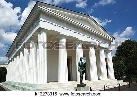 Stock Image of Temple of Theseus Vienna k13273915.