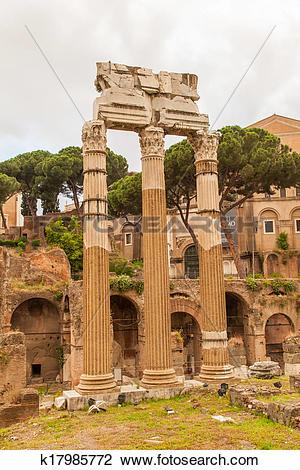 Stock Photo of Temple of Venus Genetrix k17985772.