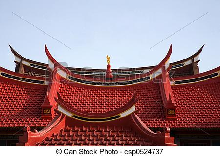 Picture of Chinese roof 2.